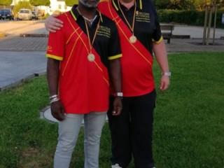 Champion de Belgique - doublette homme